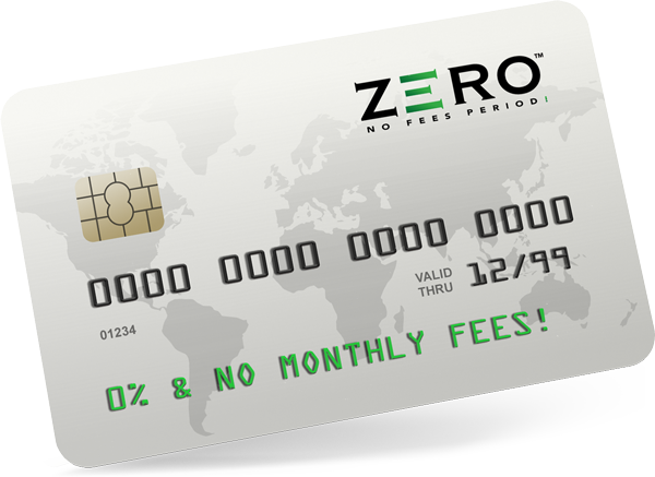 The future of credit card payment processing solutions has arrived with ZERO™