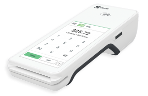 Clover™ Flex point of sale equipment for payment processing solutions | Available with ZERO™