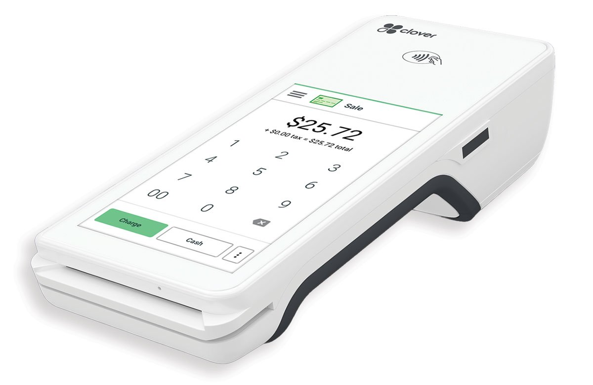 Clover™ Flex handheld point of sale equipment available from ZERO™