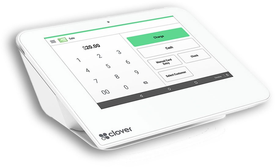 Clover™ Mini Touchscreen point of sale equipment for payment processing solutions | Available with ZERO™