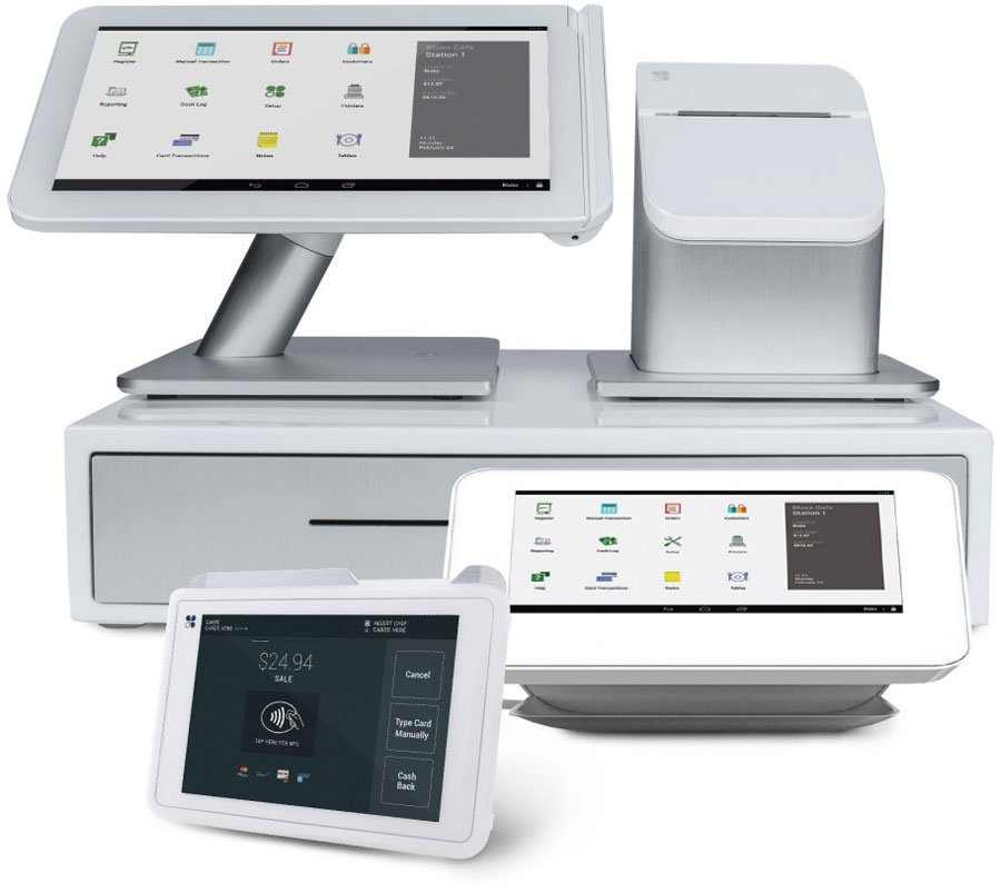 ZERO™ offers simple to use equipment for payment processing solutions such as the POS equipment family from Clover™