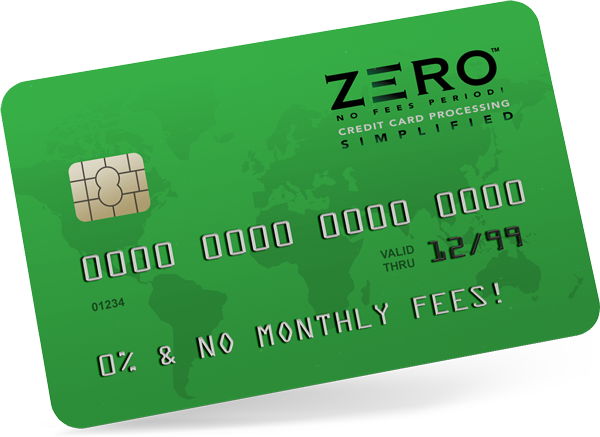 ZERO™ provides businesses simplified credit card processing with zero fees
